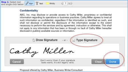 Electronic Signature With SignNow Free and Legal - Simply stated ...