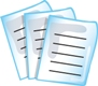 Paperwork or report icon