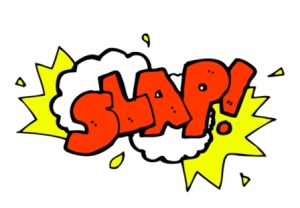 cartoon slap